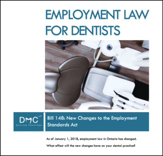 DMC LLP ebook on 2018 Employment Law Changes